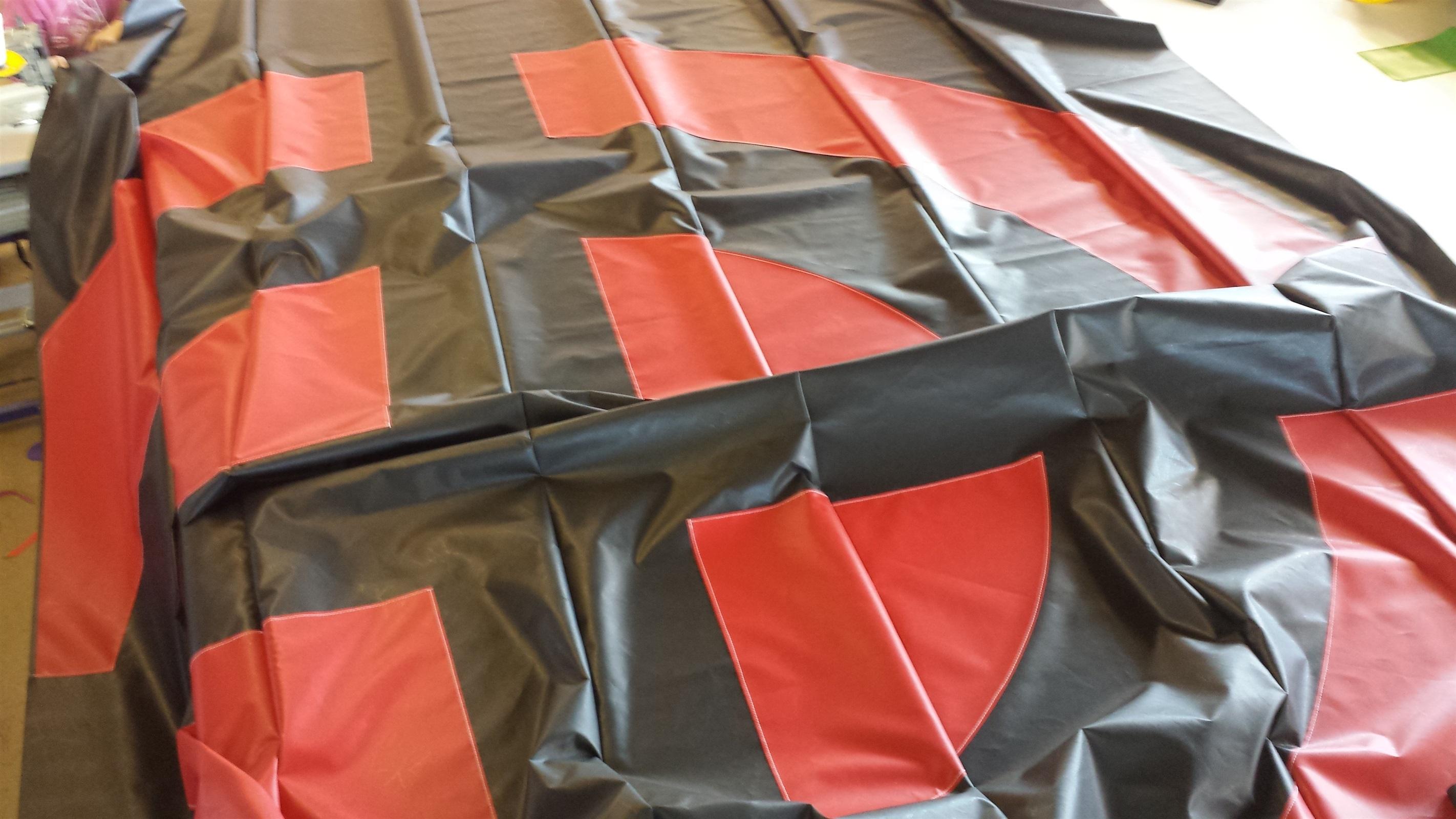 25x25x6ft Stunt Mat Air Bag Bb 081b V Bouncy