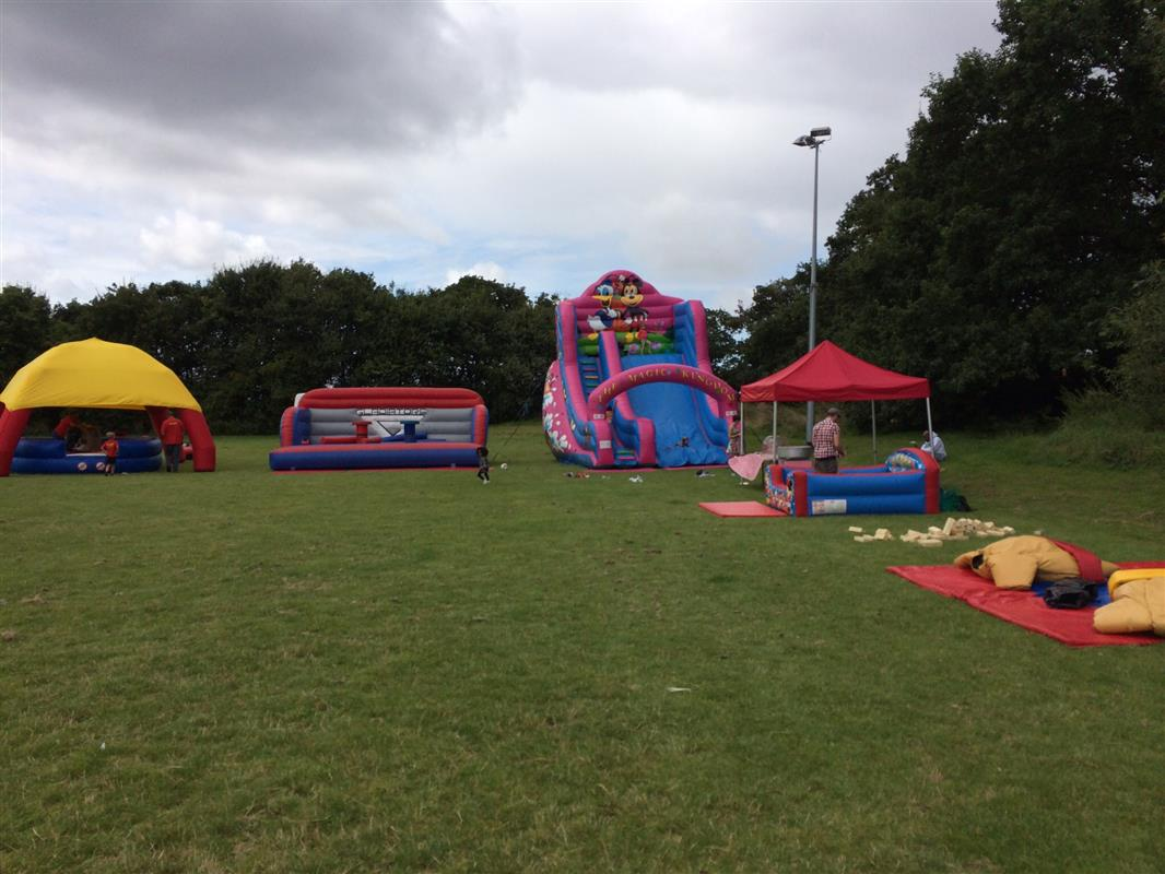 Nandos Family Fun Day Bouncy Castle Hire In