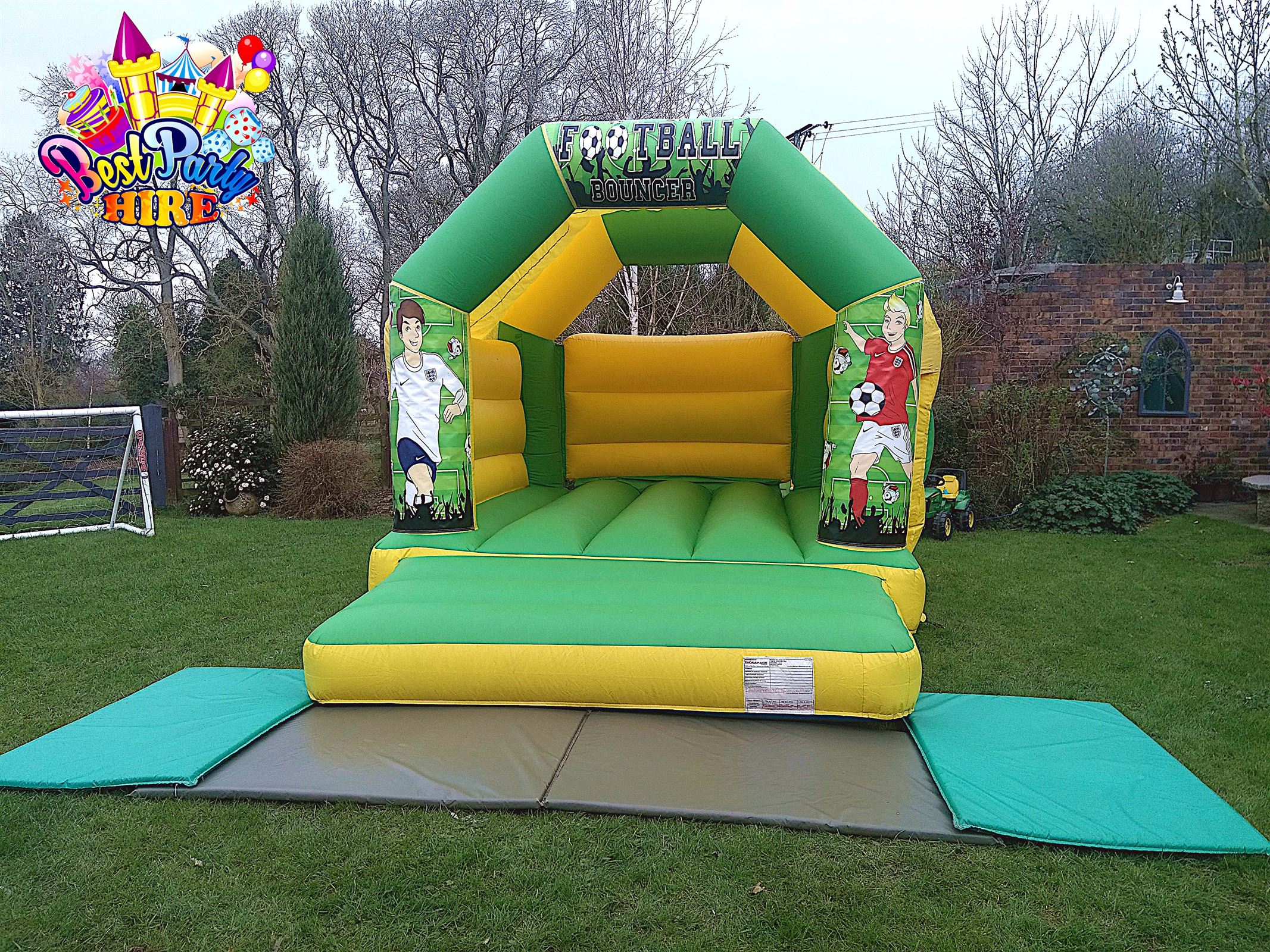 Bouncy Castle, Soft Play  in Leamington, Kenilworth, Warwick, Southam -  Best Party Hire