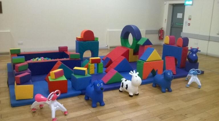 how to set up a soft play centre