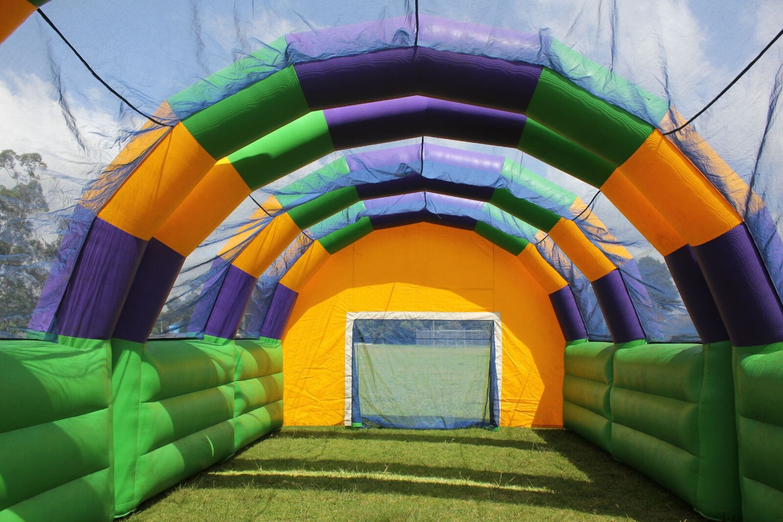 Inflatable Indoor Soccer Arena Jumping Castle Hire In Sydney