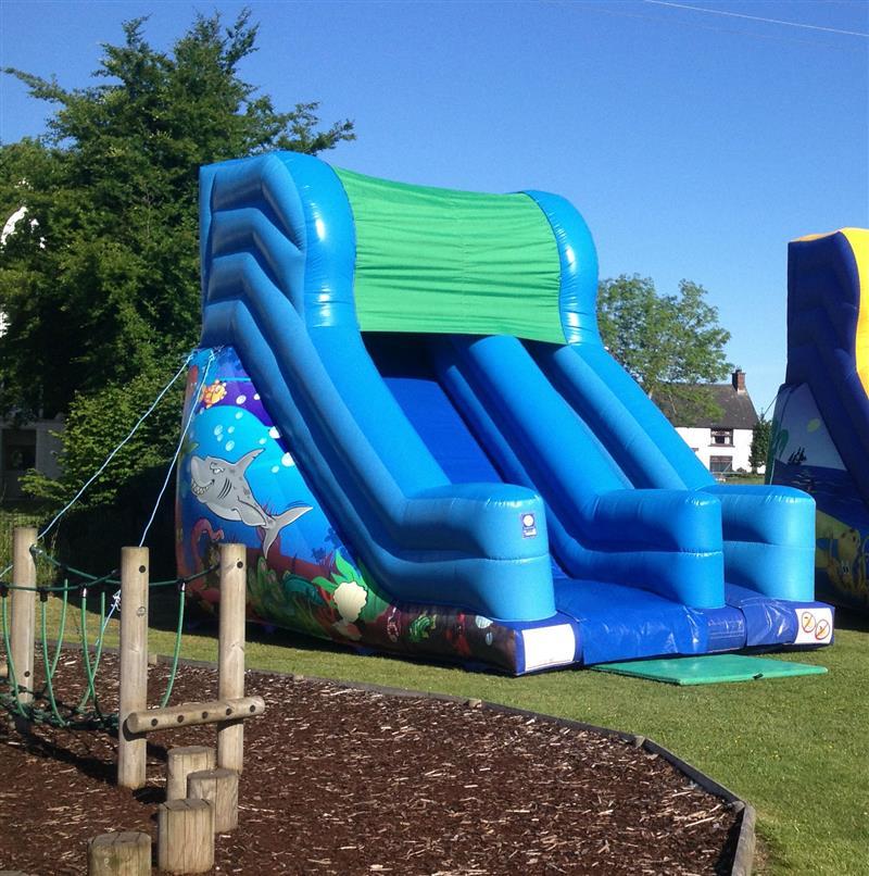 Inflatable Slide Hire Uk: Slide 20ft X 12ft X 18ft High