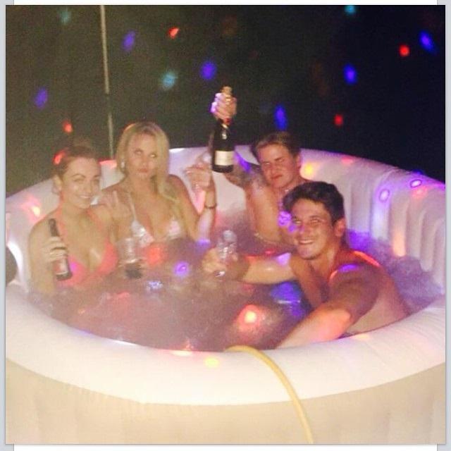 Lay Z Spa Hot Tub Hire Bouncy Castle Soft Play Disco