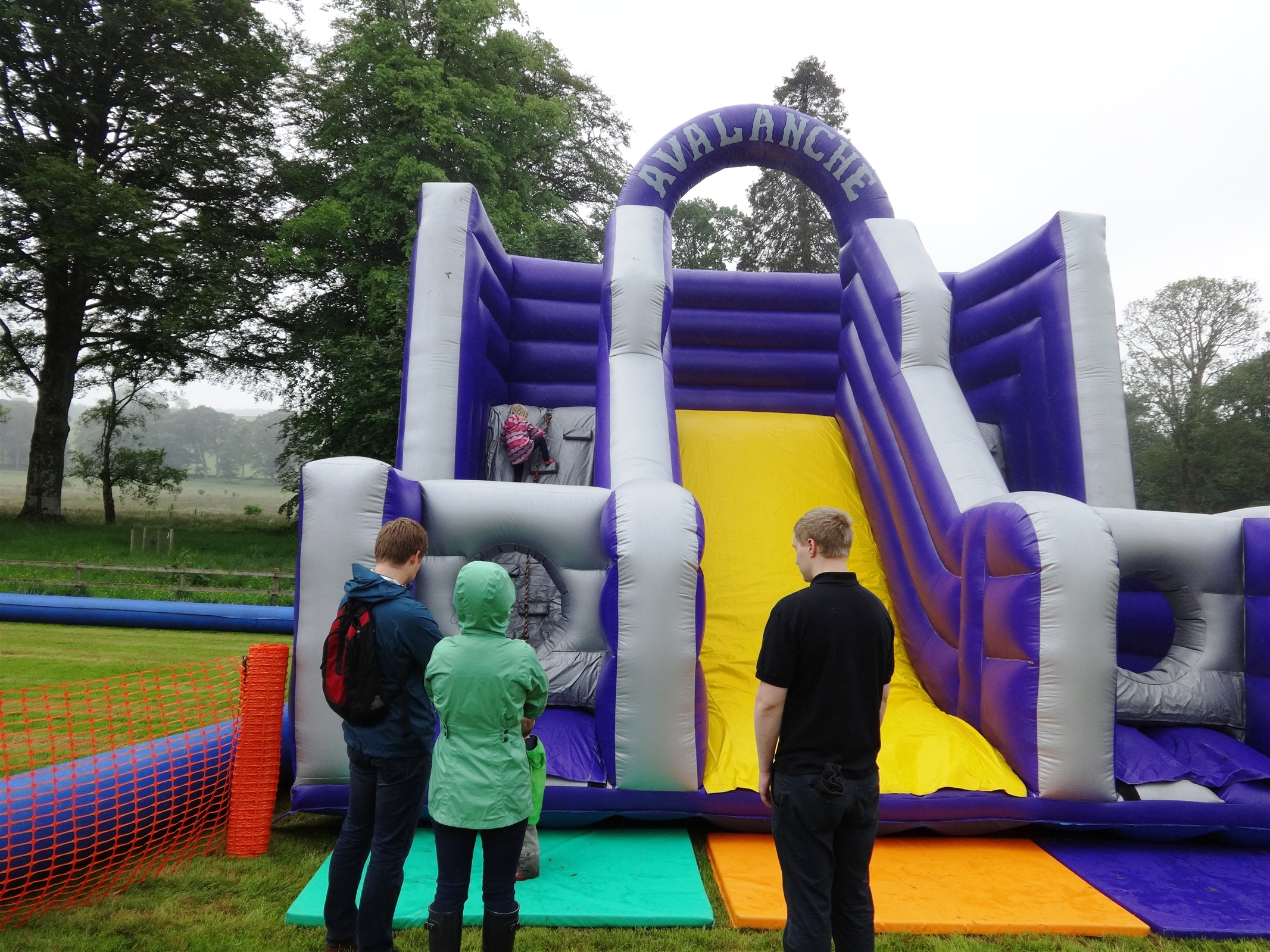 Avalanche Climbing Wall Up To 5 Hours Hire Bouncy