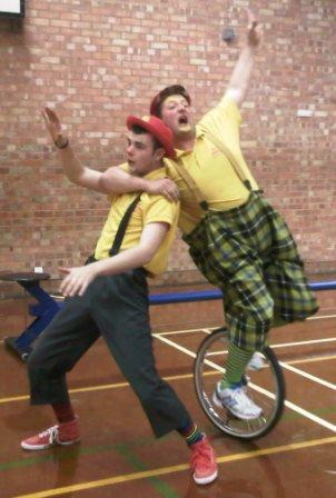 Circus Skills Workshops Bouncy Castle Hire In Colchester