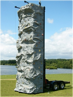 Mobile Rock Climbing Wall Amp Abseiling Tower Bouncy