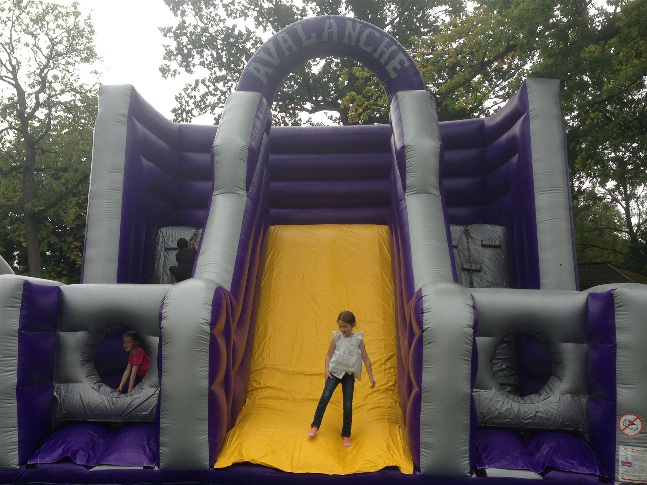 Giant Avalanche Climbing Wall Slide Hire Fife Edinburgh Glasgow