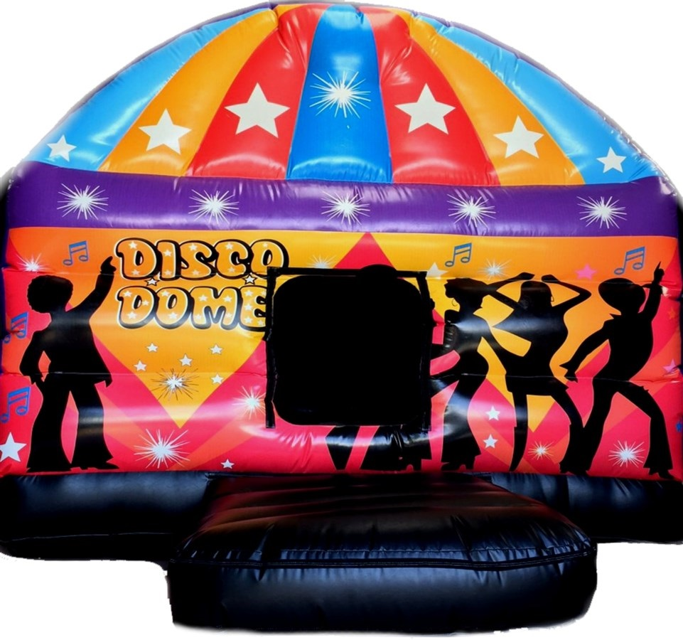 disco jumping castle