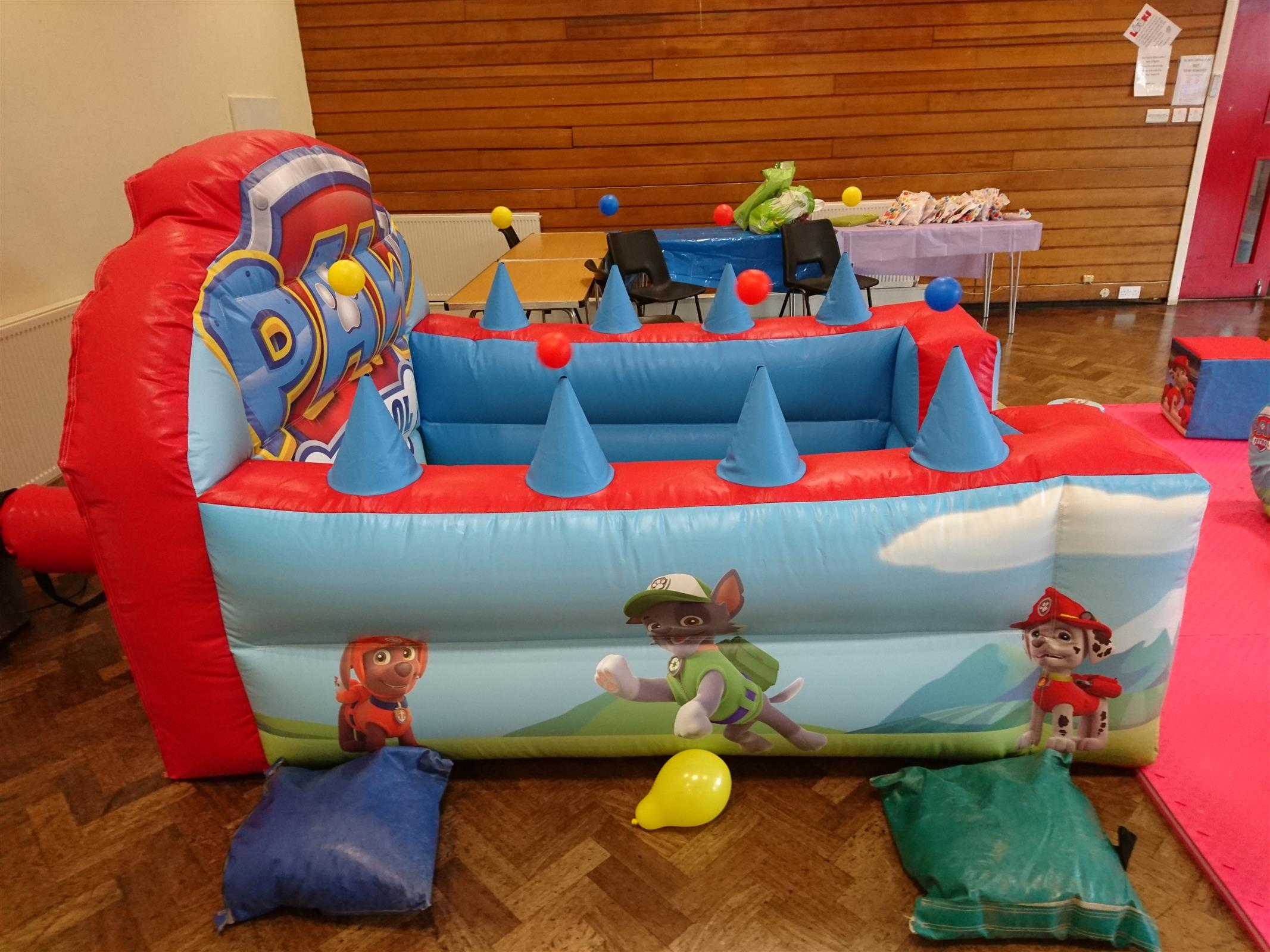 Paw Patrol Soft Play Party Package Bouncy Castle Hire Bradford