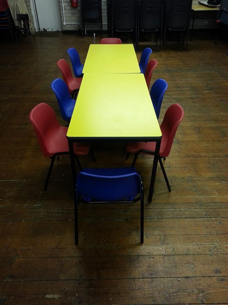 Kids Children 39 S Tables And Chairs Bouncy Castle Hire And