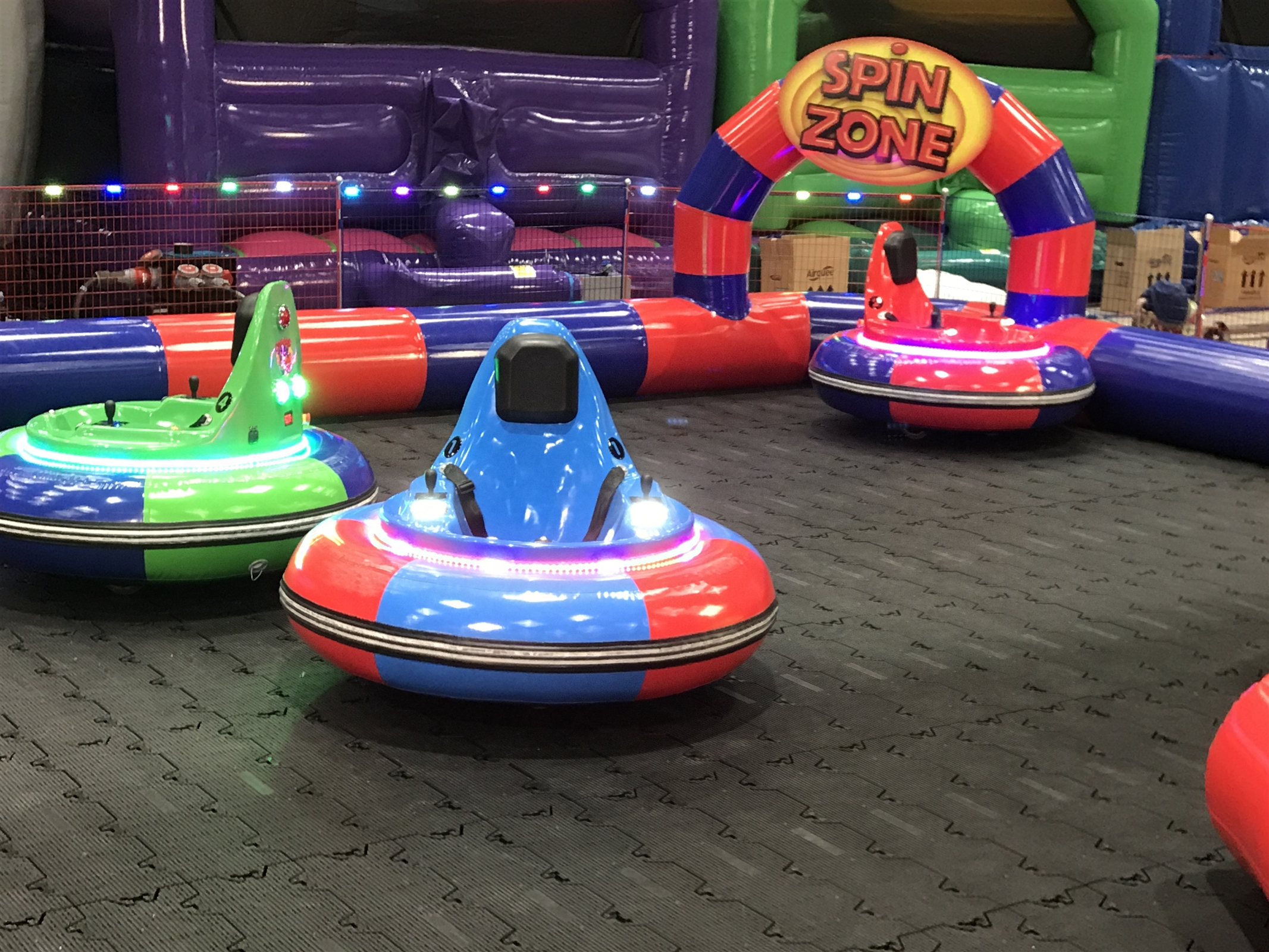 Bumper Cars Bouncy Castle Hire In Wolverhampton Walsall