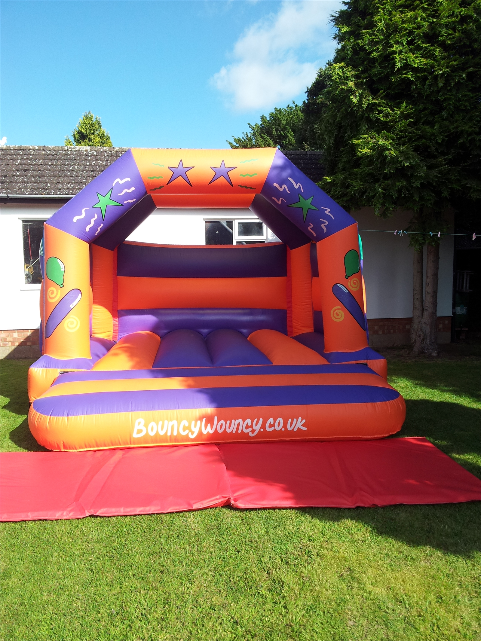 12x12 party time bouncy castle bouncy castle hire in Kettering swimming pool timetable