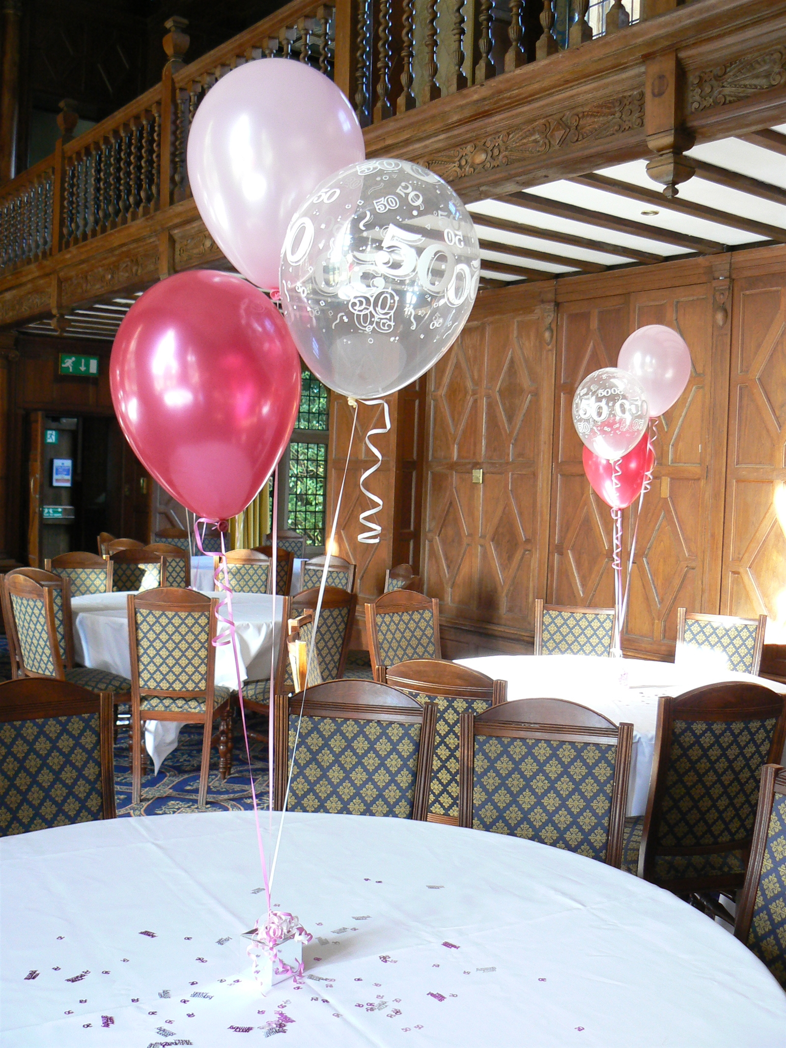 Silver Party Balloon Package