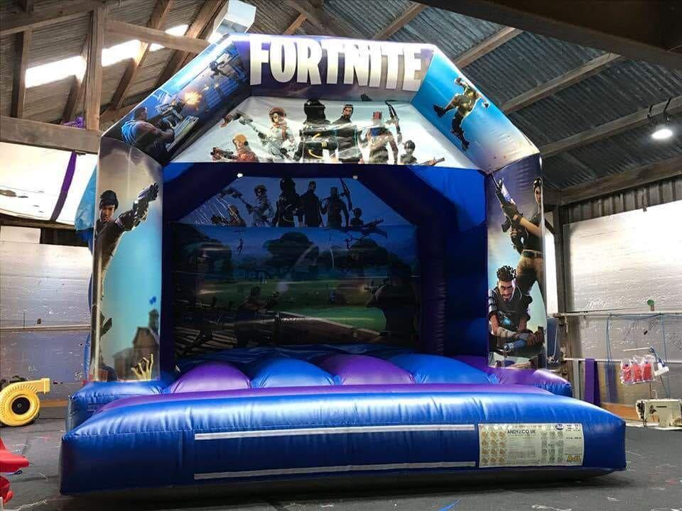 Fortnite Bouncy Castle 12ft X 15 Bouncy Castle Hire In