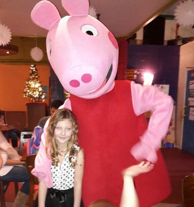 Peppa Pig Mascot - Bouncy Castle Hire Mascot Hire Soft Play Hire in Hayes Northolt Hillingdon Uxbridge Greenford Feltham Hounslow Ruislip  sc 1 st  Chloeu0027s Castles & Peppa Pig Mascot - Bouncy Castle Hire Mascot Hire Soft Play Hire ...