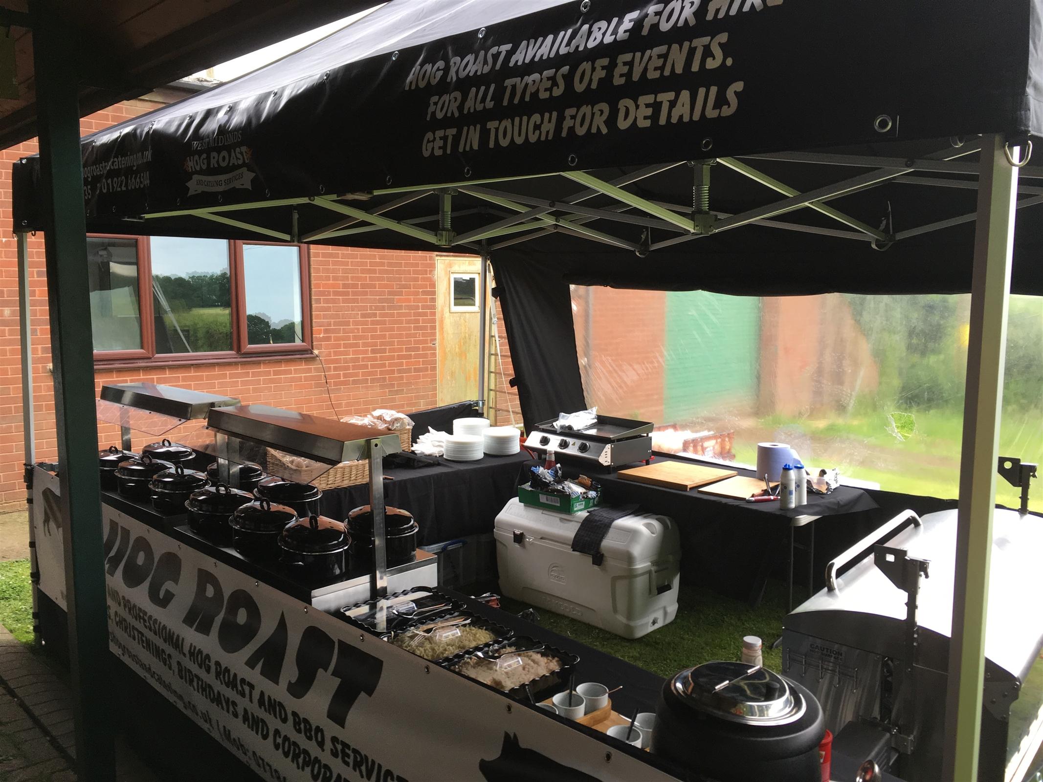 Hog Roast Bouncy Castle Hire In Wolverhampton Walsall
