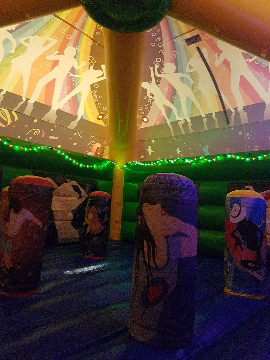 Disco Dome Jumping Castle In Adelaide