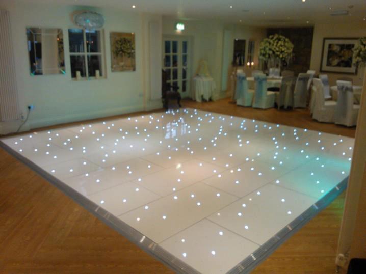 12ft X 12ft Starlight Dance Floor Bouncy Castle Hire In