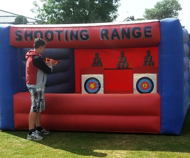 Inflatable Shooting Range