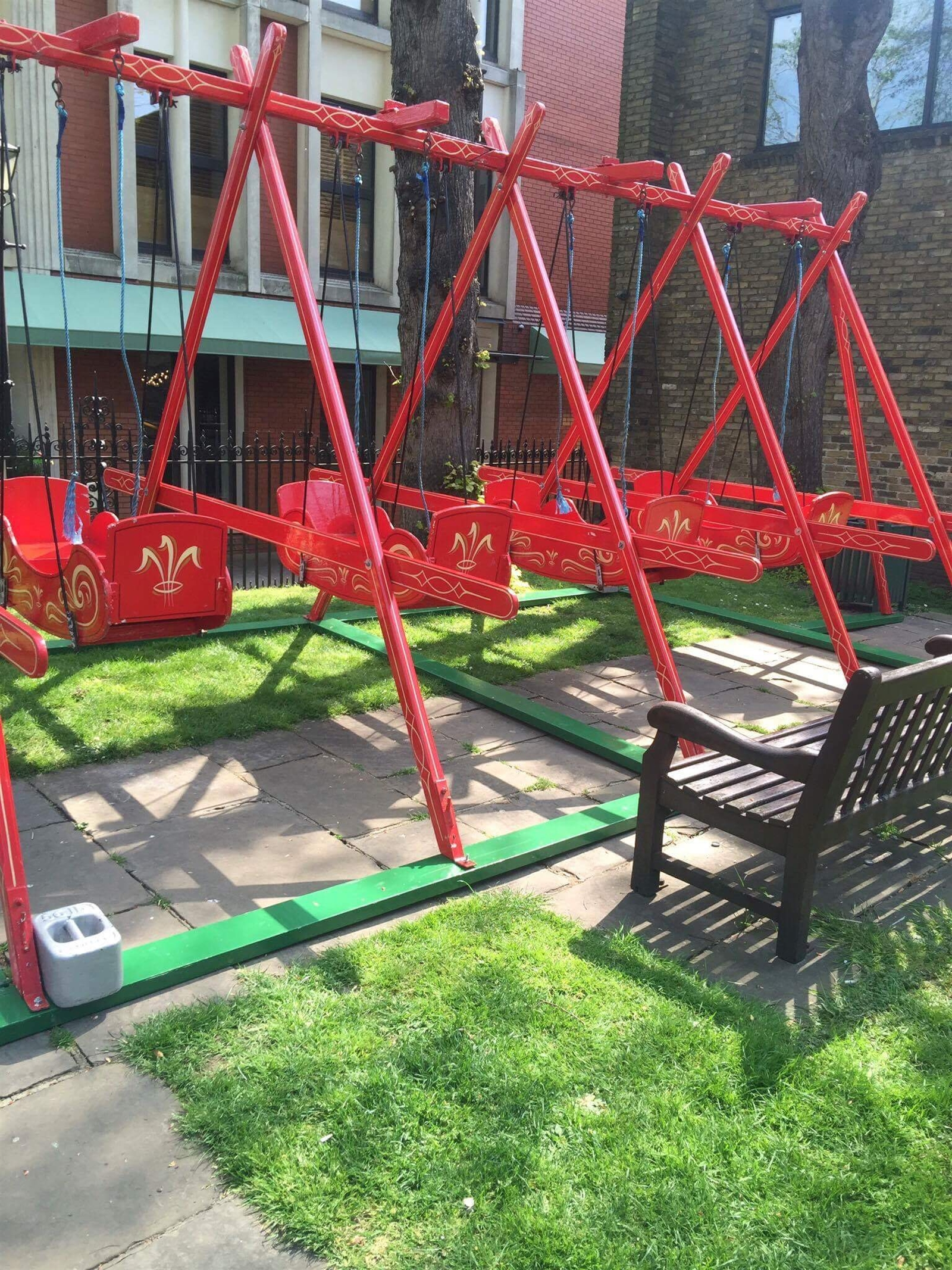 Traditional Swing For Living Room: Bouncy Castle Hire, Fairground