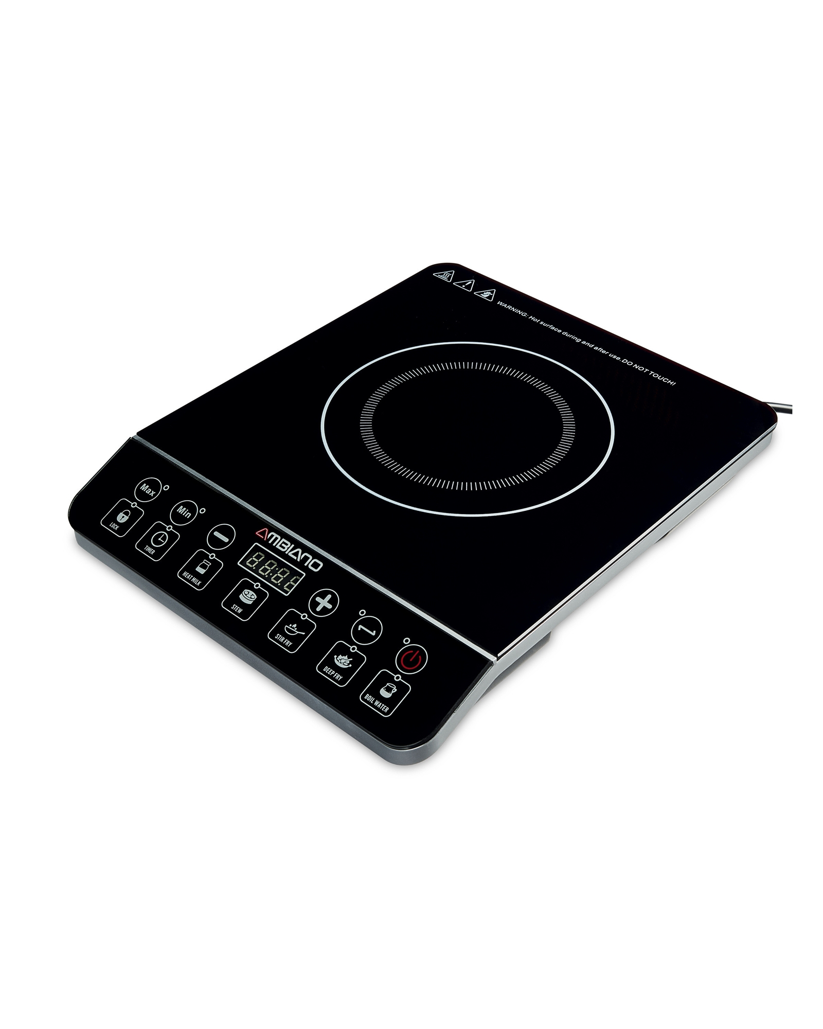 chef electric cooktops bellini 60cm 4 burner electric. Black Bedroom Furniture Sets. Home Design Ideas