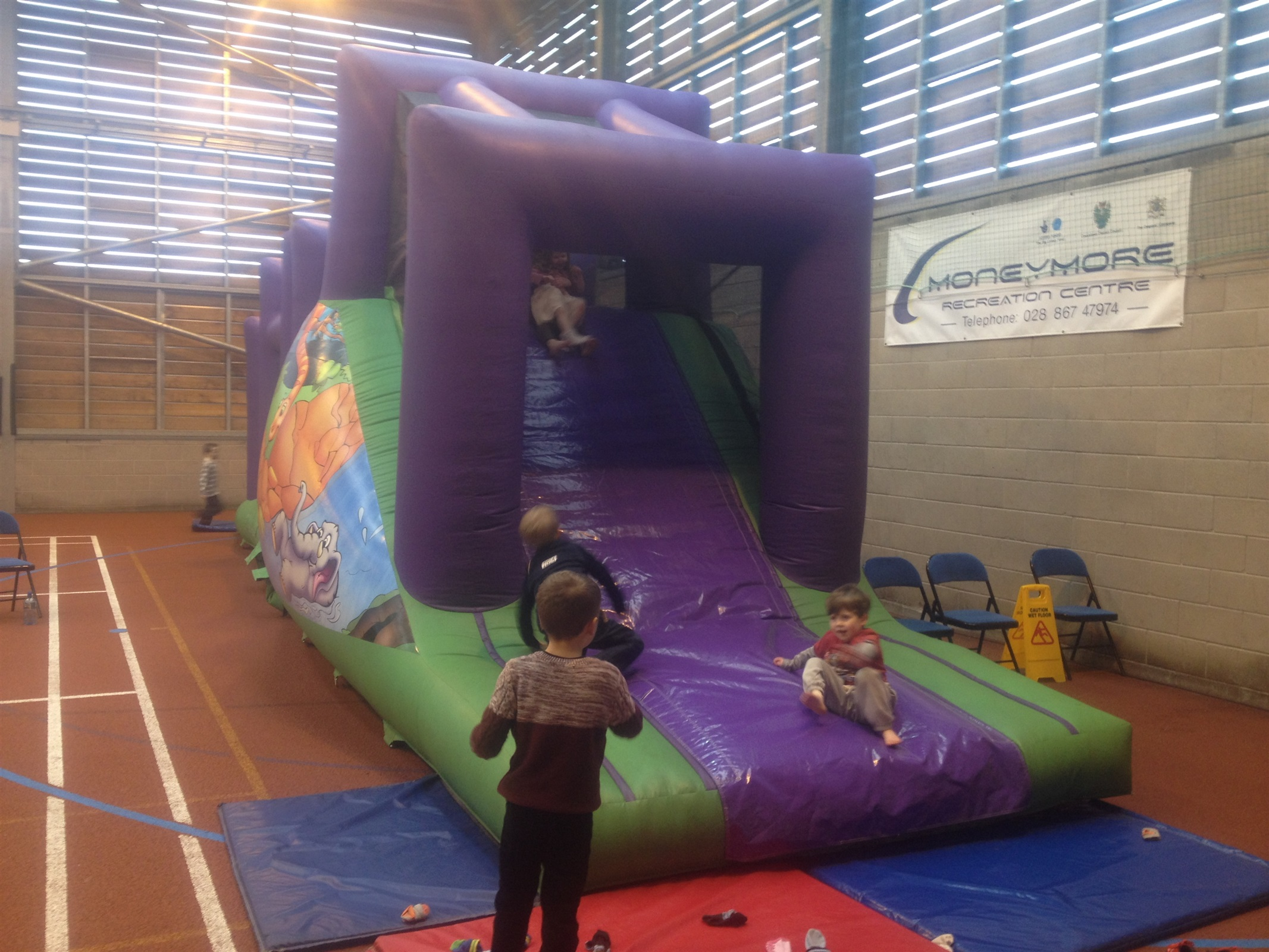 45ft X 12ft Assault Course Bouncy Castle Hire Marquee Hire In Omagh Dungannon Cookstown Co Tyrone Northern Ireland