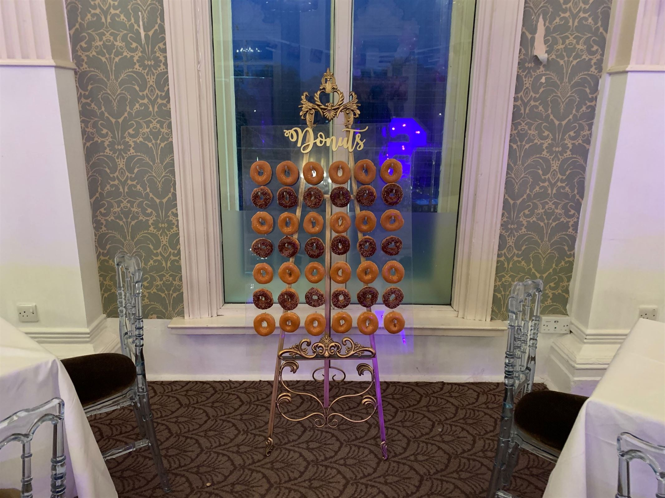 Acrylic Donuts Wall And Stand Event Entertainment In London
