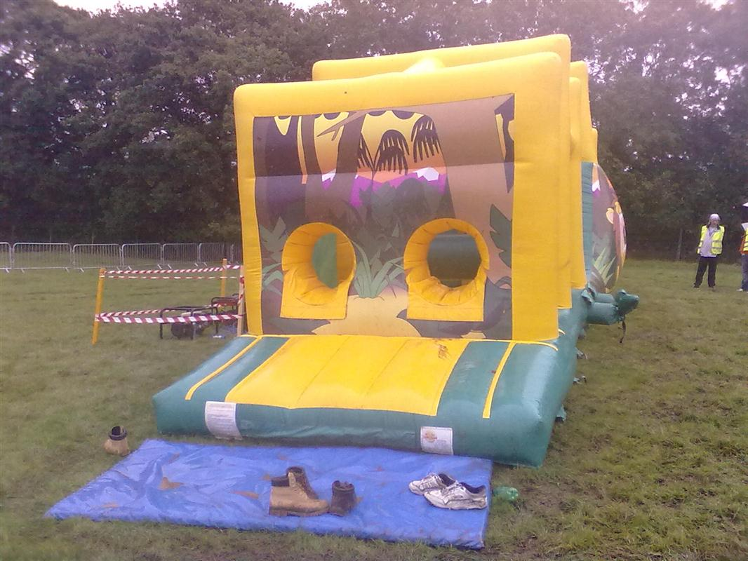 45FT x 12ft ASSAULT COURSE Bouncy Castle Hire Marquee Hire in Omagh Dunga