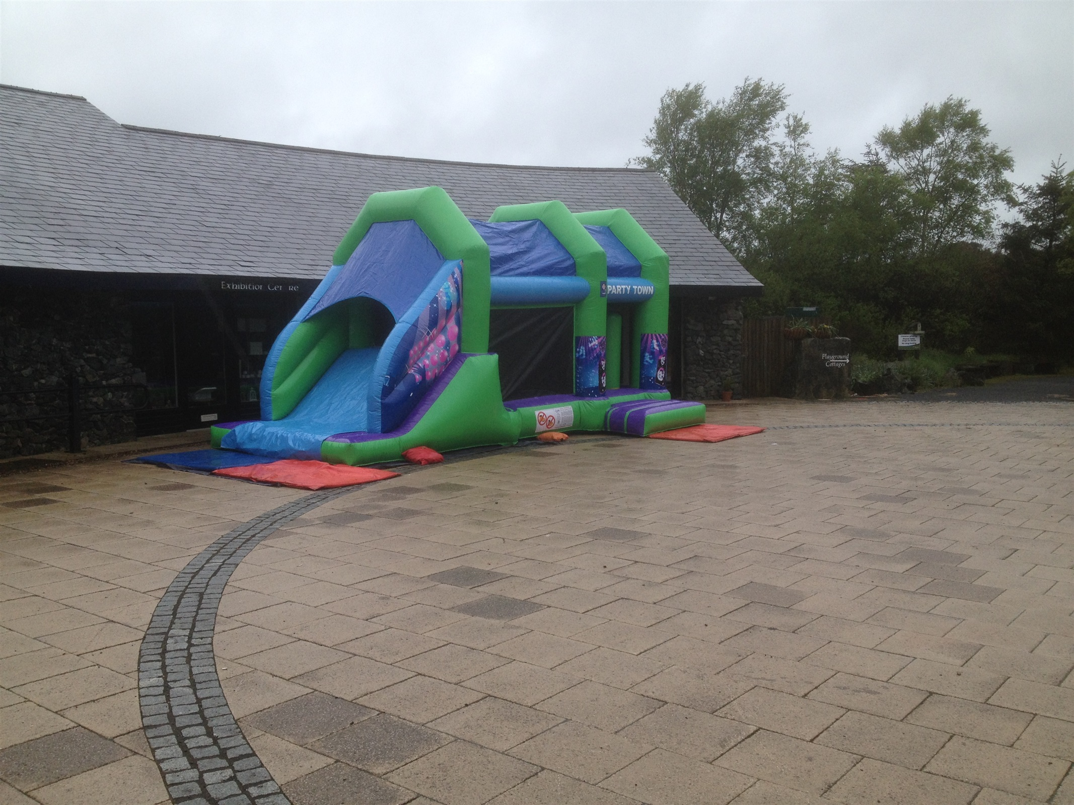 Small Obstacle Course Bouncy Castle Hire Marquee Hire in Omagh Dungannon