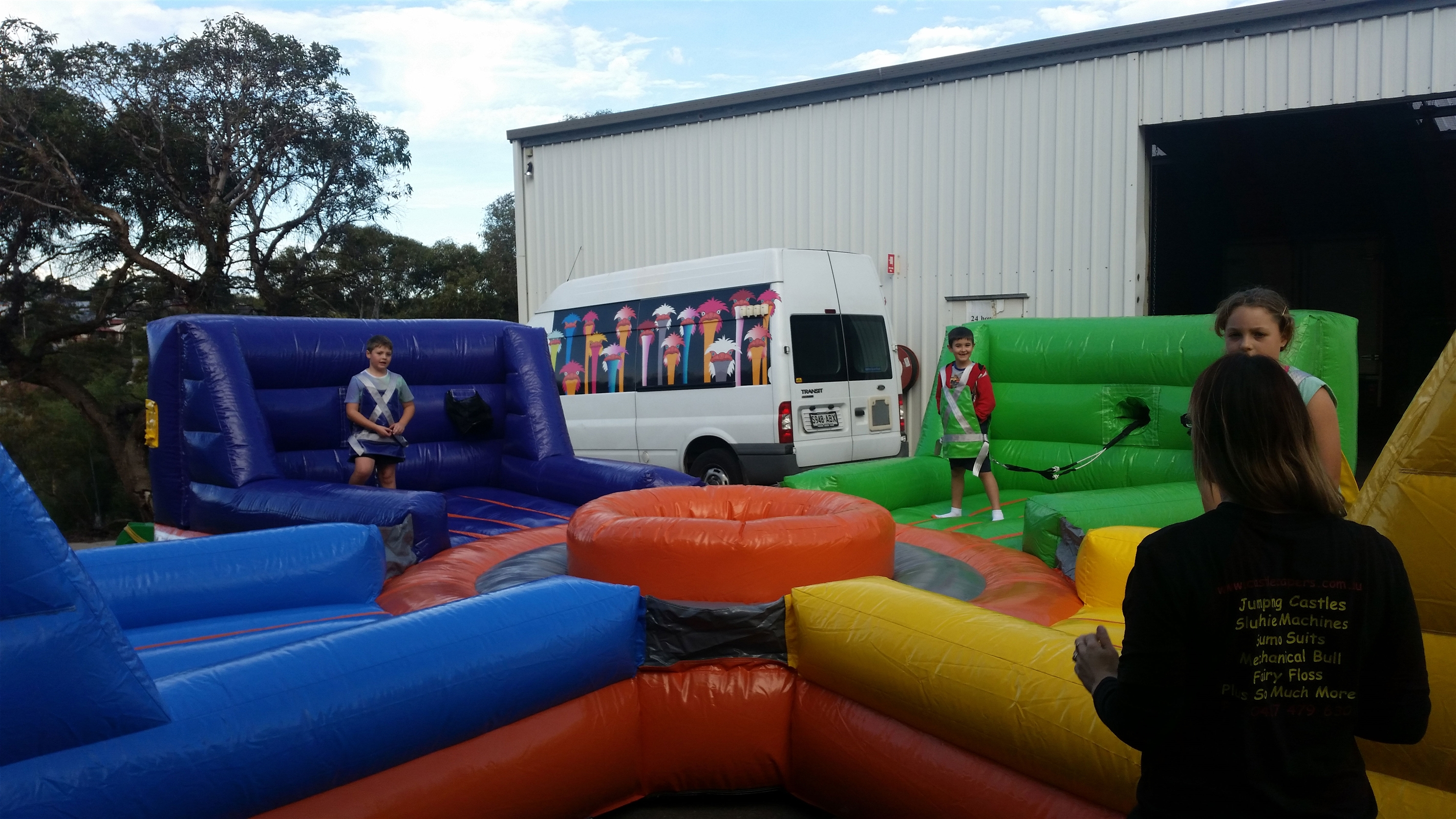 Hippo Jumping Castle Hire In Adelaide