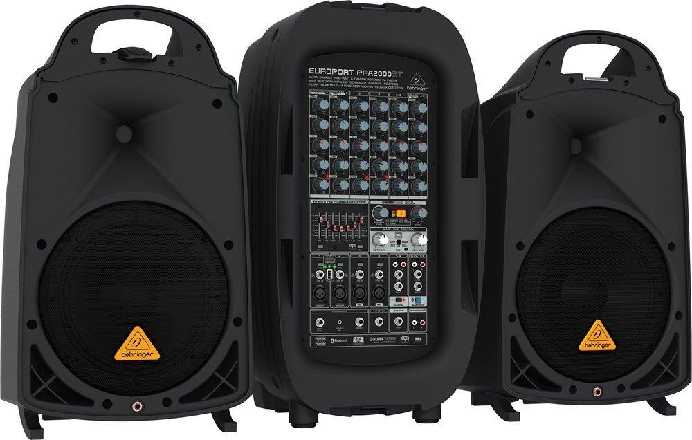 Small Disco Speaker Pa System Jv Bouncy Castle Hire