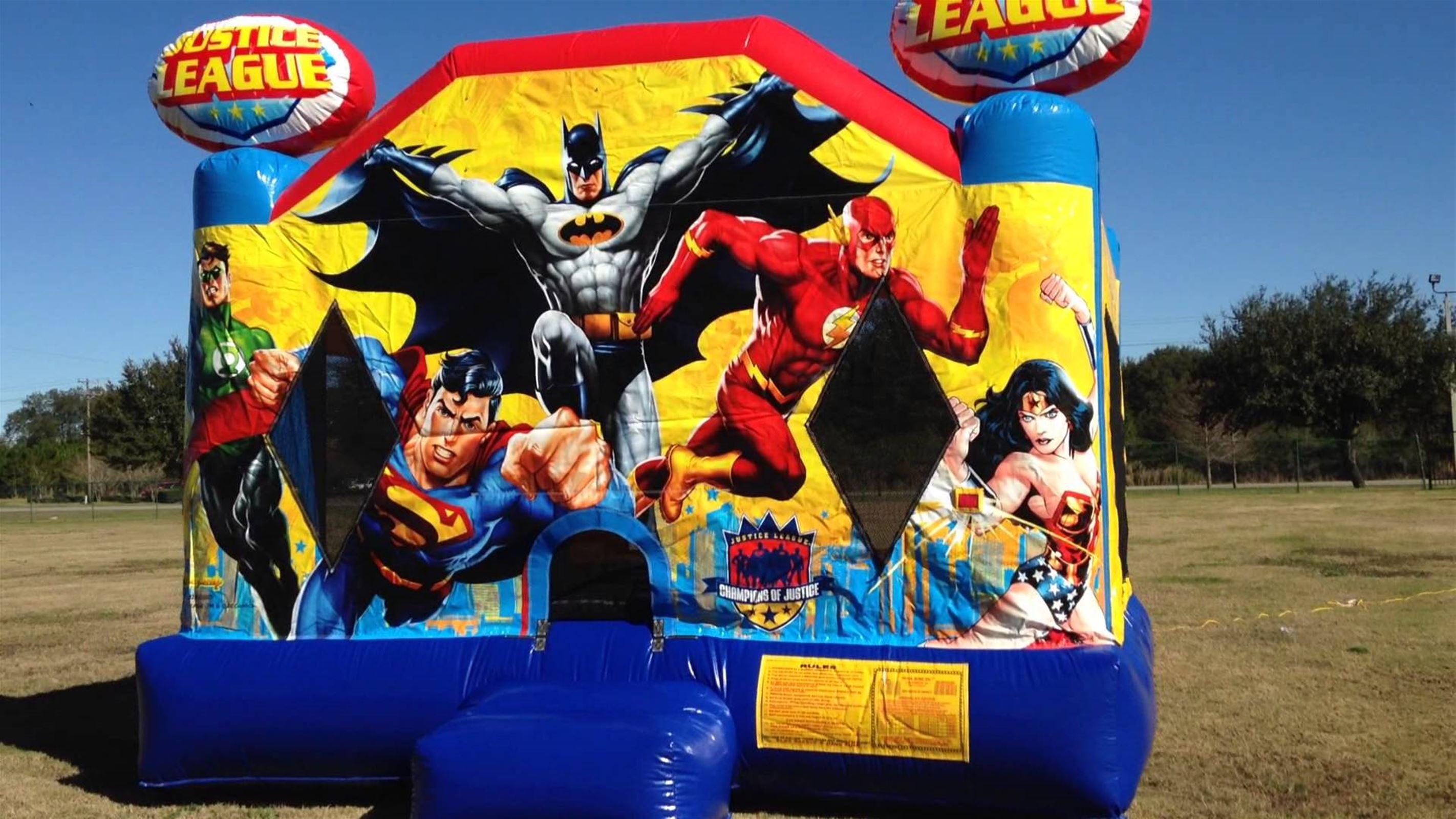 Superhero Jumping Castle In Adelaide