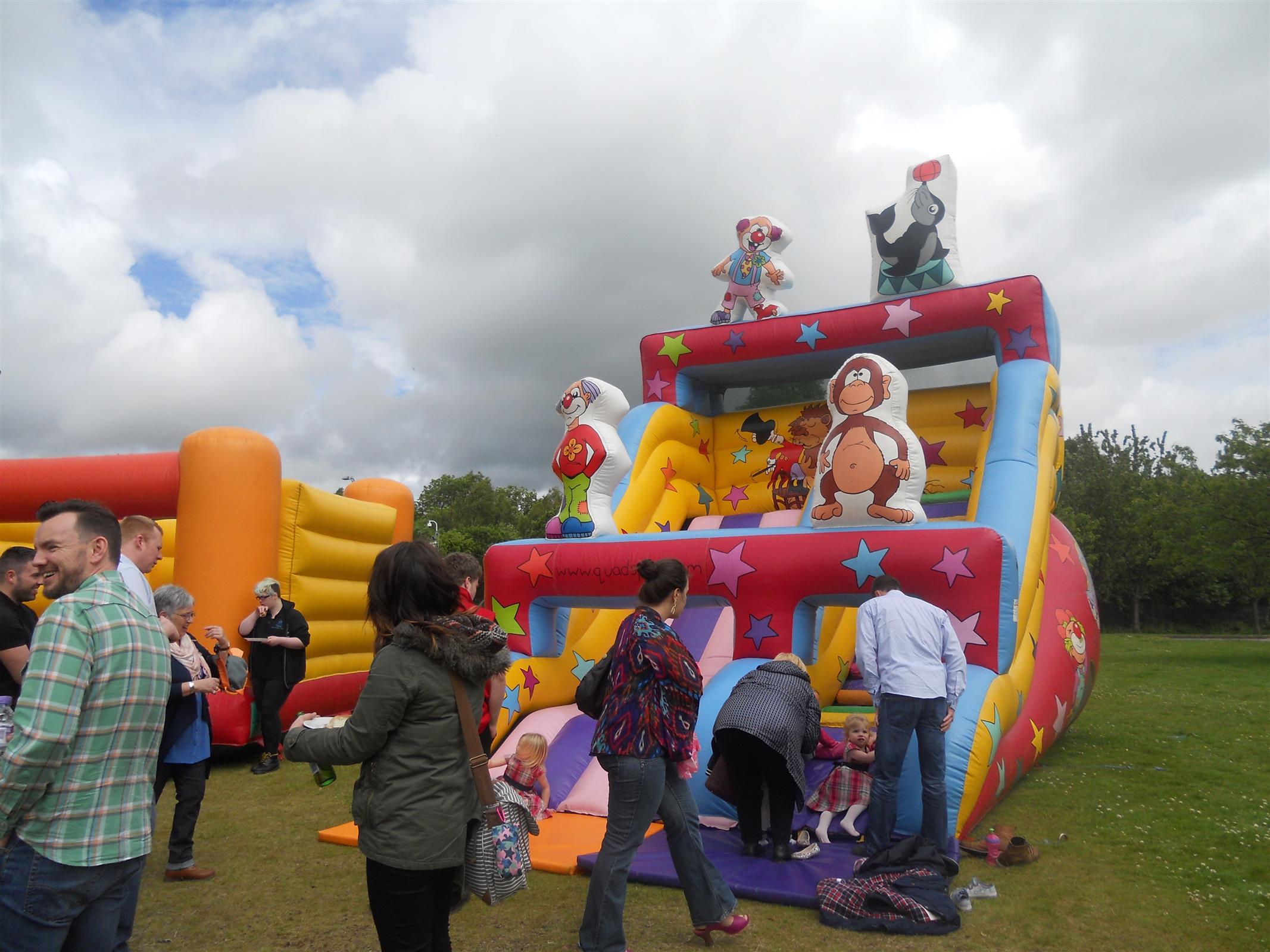 Giant Circus Slide Hire In Glasgow Fife And Edinburgh