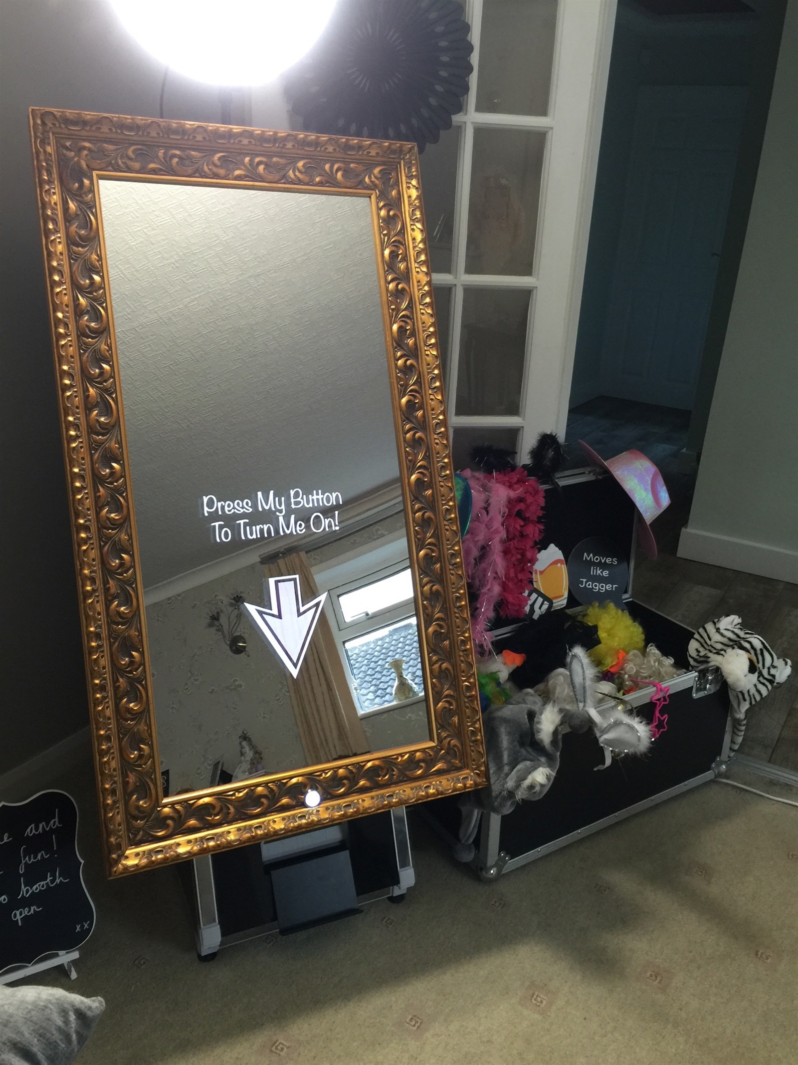 Exhibition Stand Hire Yorkshire : Magic selfie mirror bouncy castle hire in leeds west