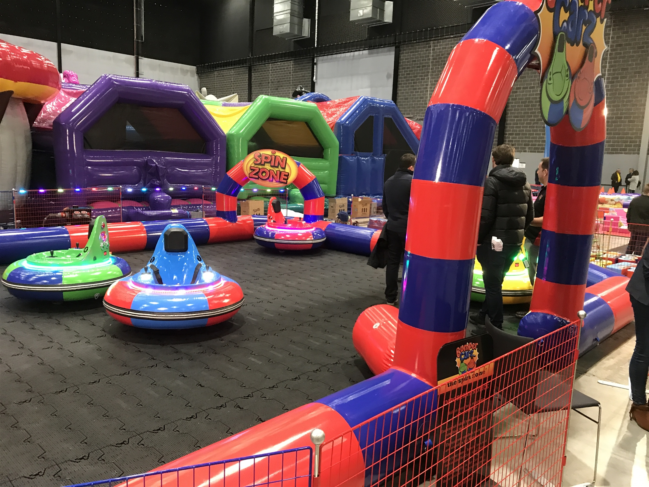 Bumper Cars Bouncy Castles In West Midlands Cannock