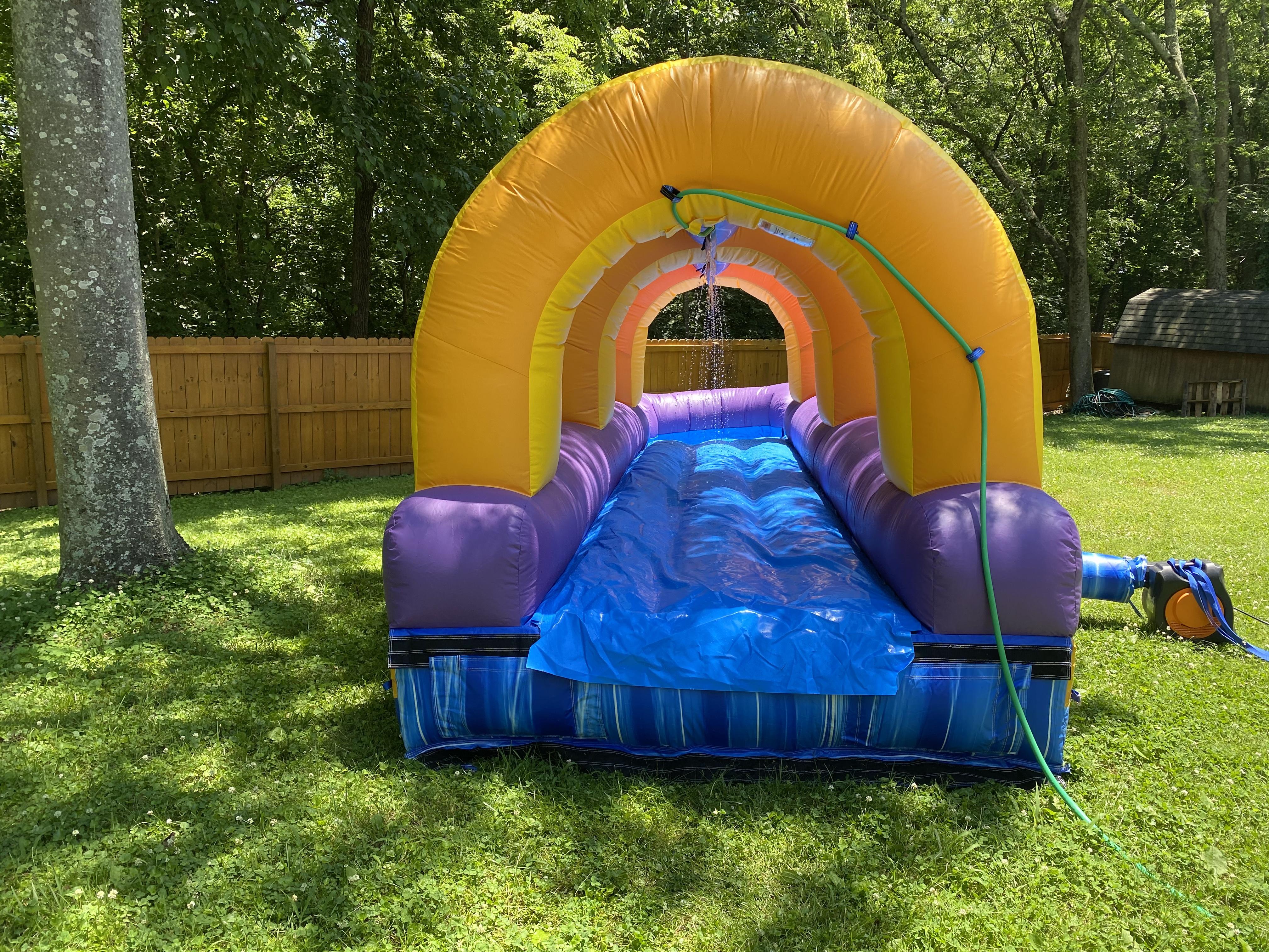 Backyard Slip n Slide - Inflatable Bounce Houses & Water ...