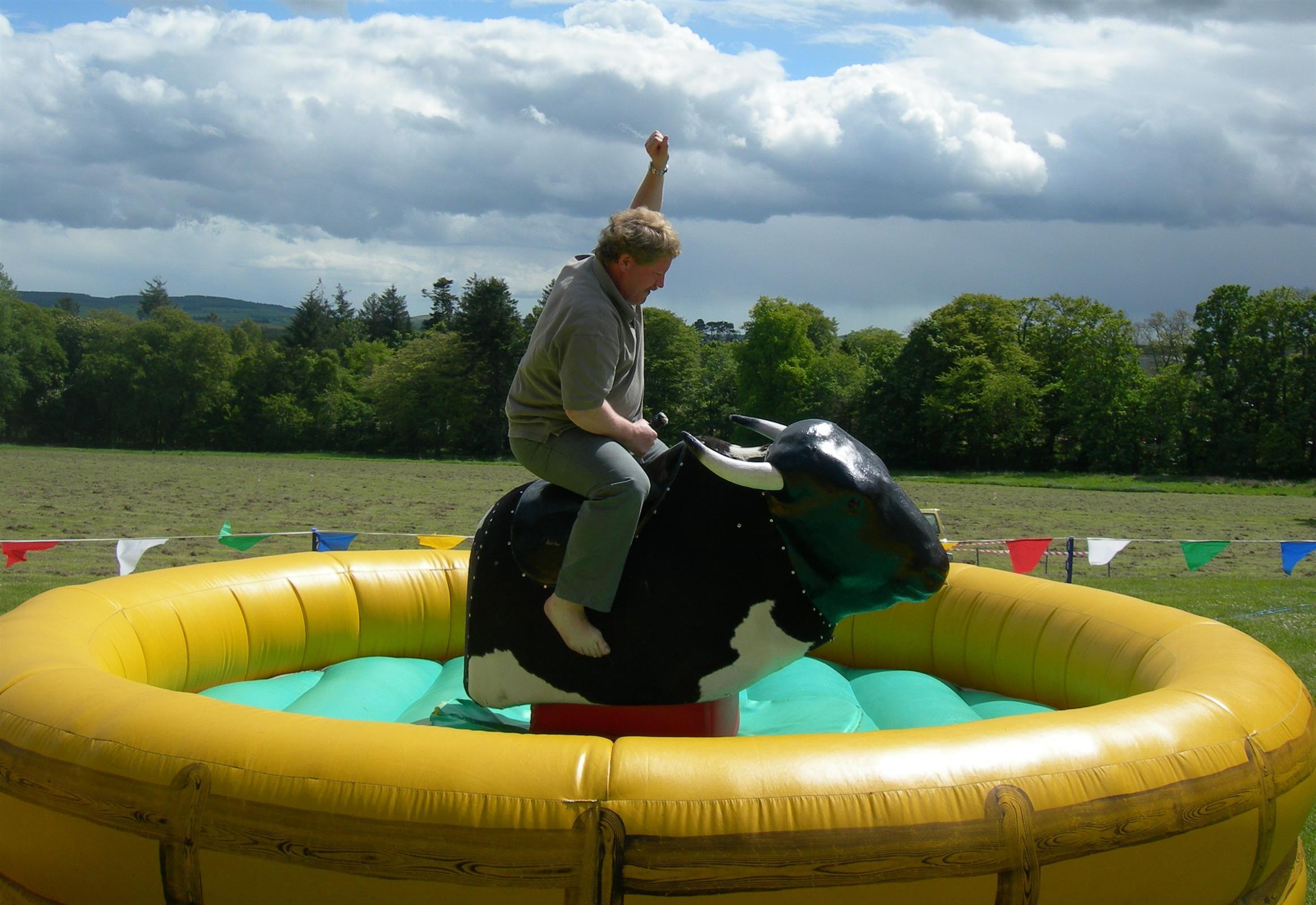 Bucking Bronco Hire In Fife Edinburgh And Glasgow