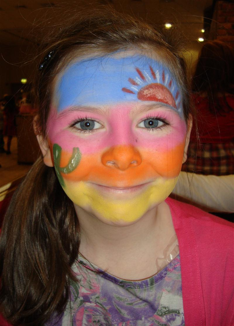 Face Painting Bouncy Castle Hire Marquee Hire In Omagh