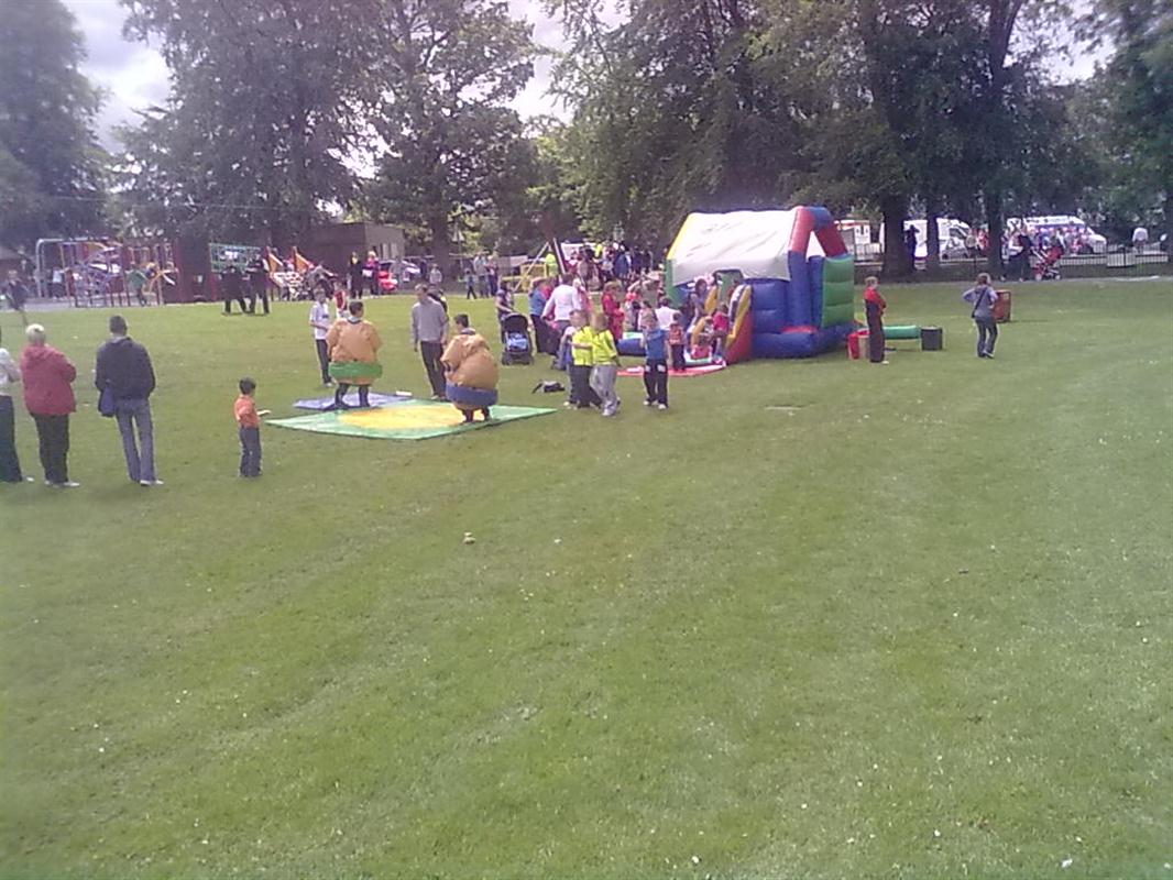 Council Work 2011 Bouncy Castle Hire Marquee Hire In