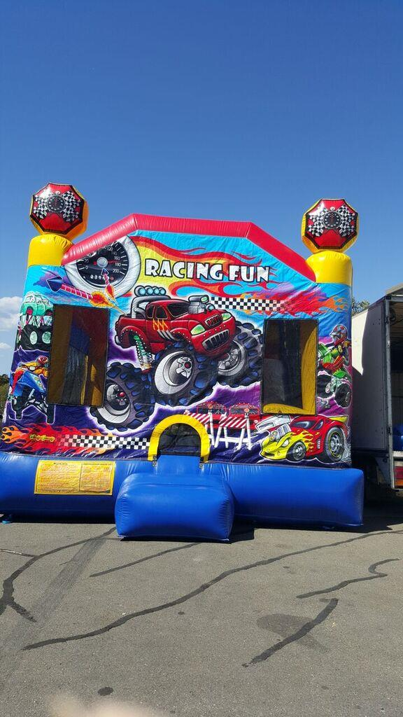 Racing Fun Jumping Castle In Adelaide