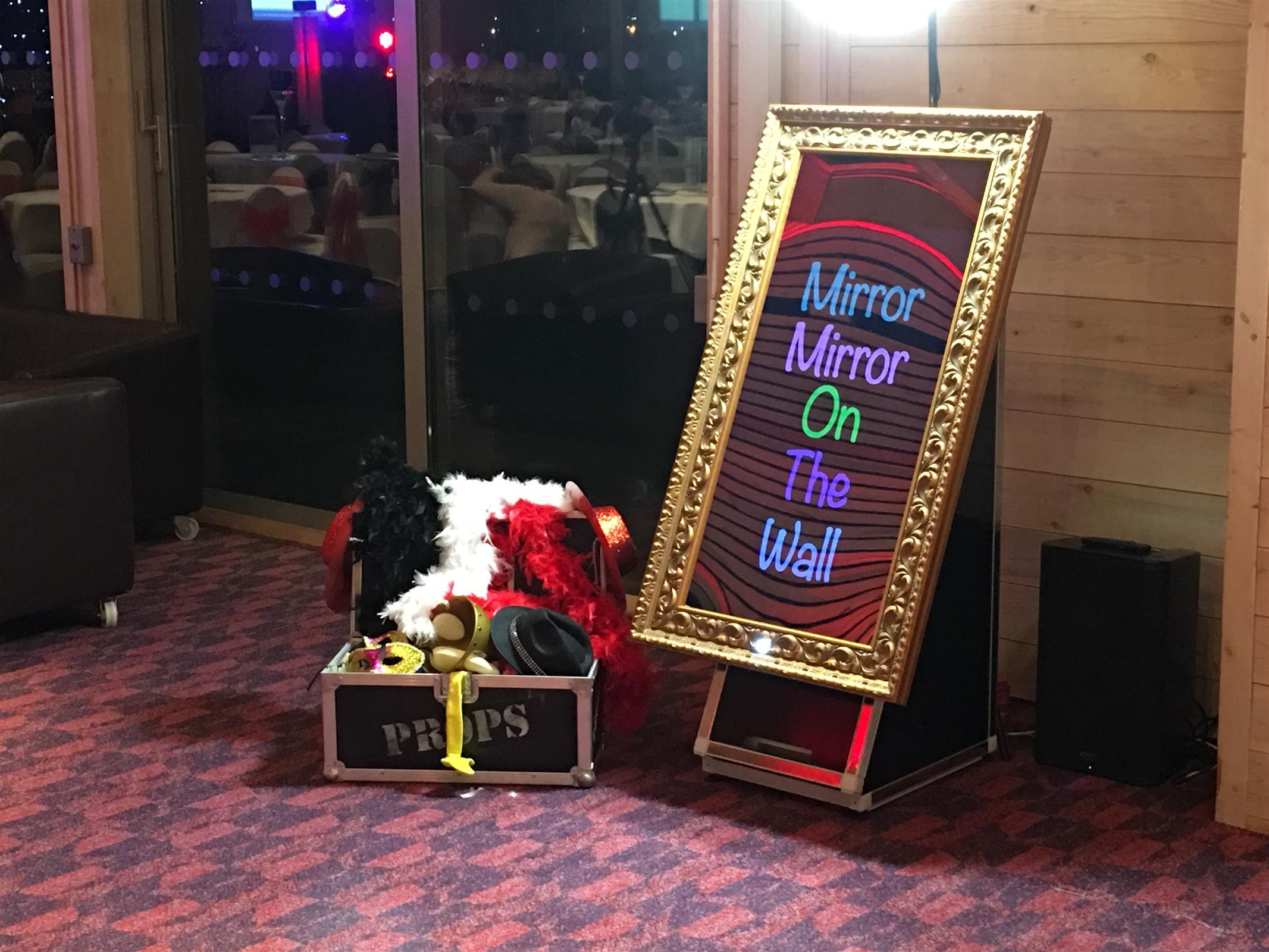 Magic Selfie Mirror Bouncy Castle Hire In Leeds West