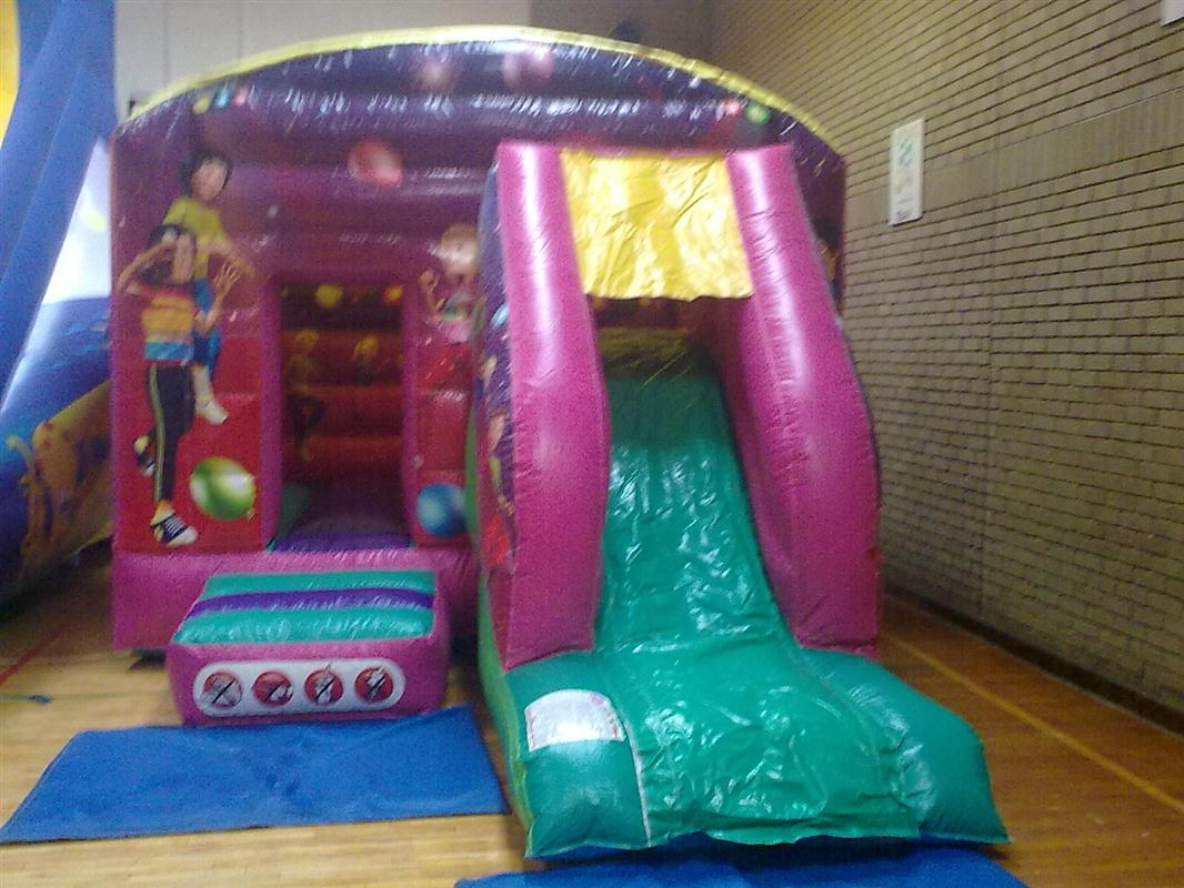 19ftx13ft Bounce and Slide Bouncy Castle Hire Marquee Hire in Omagh Dunga