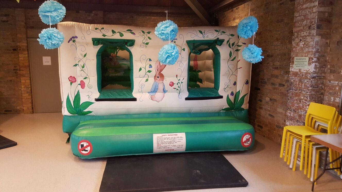 Exhibition Stall Games : Peter rabbit bouncy castle hire essex london