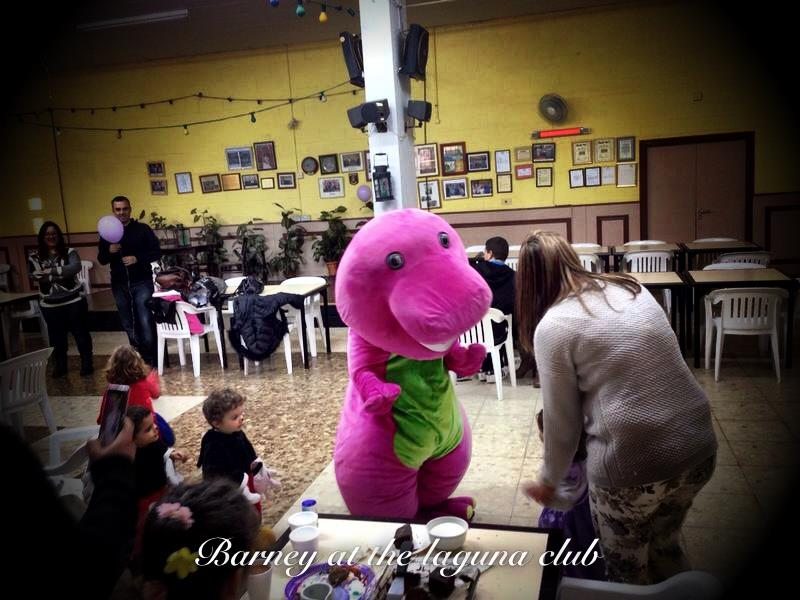 Barney - Bouncy Castle Hire in Gibraltar