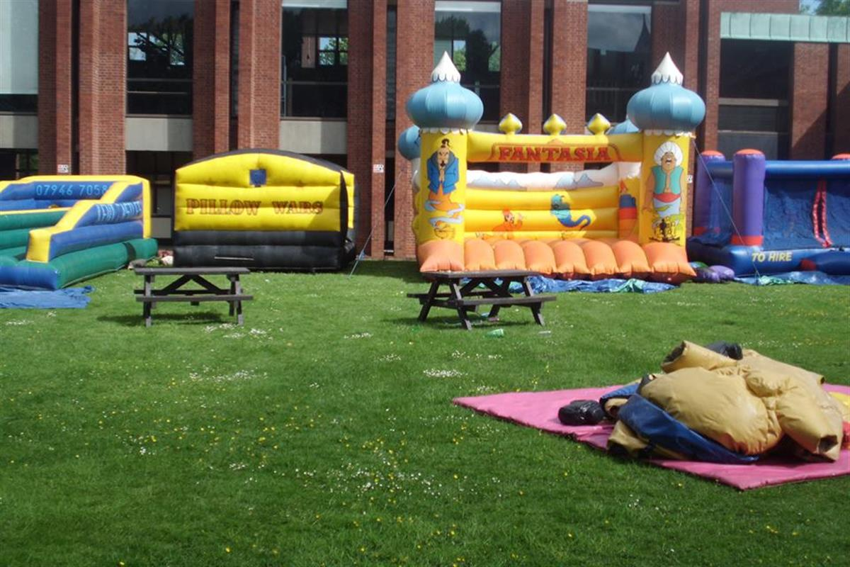 Inflatable Pirate Ship Hire Manchester