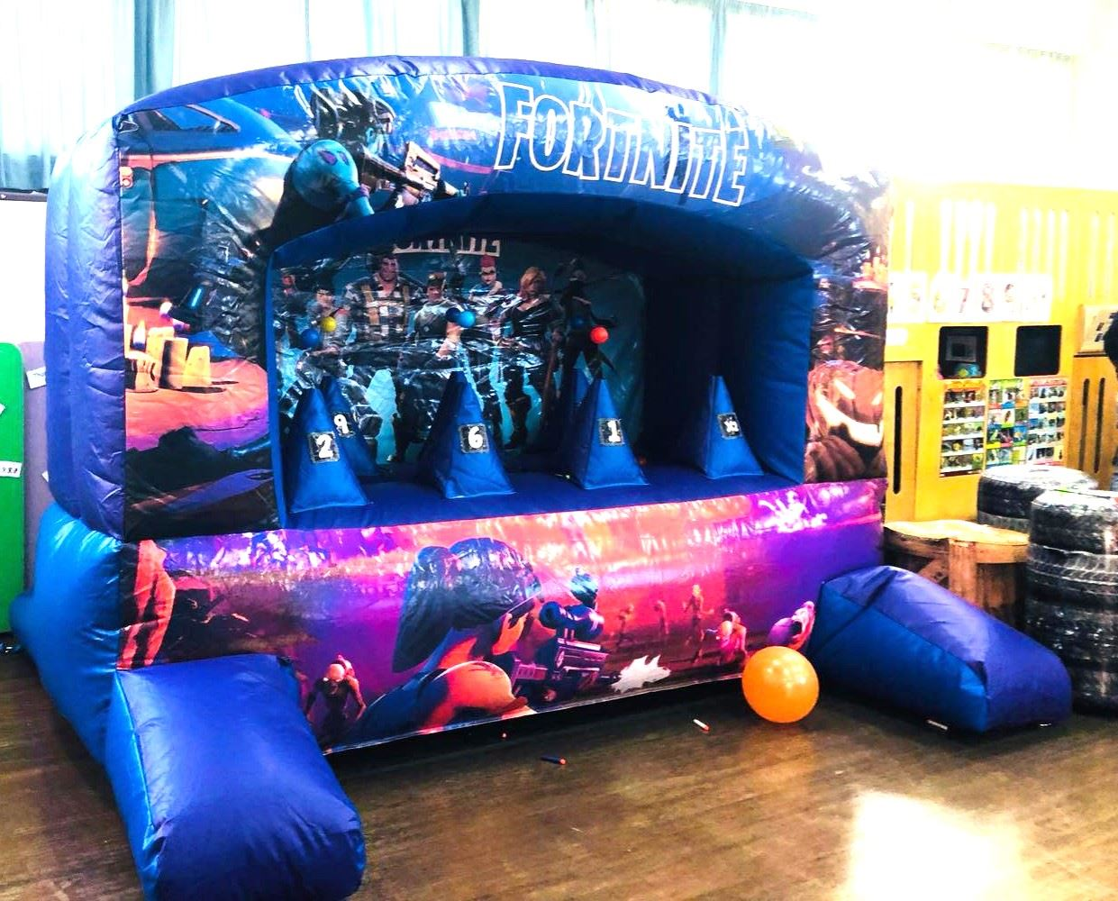Used Cars Langley >> 10 ft Nerf Target Shooter Game - Bouncy Castle Hire in ...