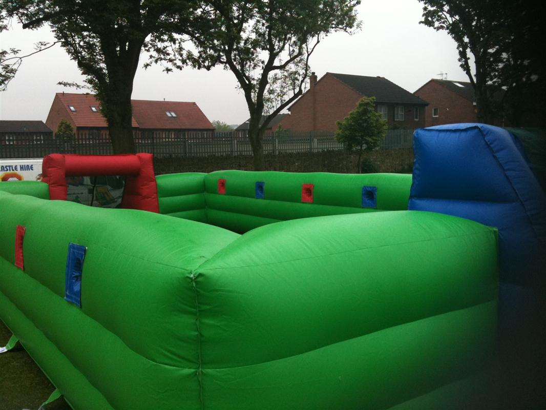 46x20x7ft human table football fully enclosed bb 073 - Enclosed beds for adults ...