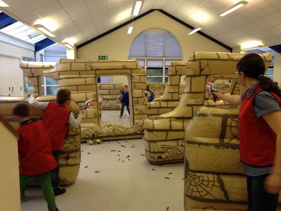 Nerf Wars Parties - Bouncy Castle Hire in Bexleyheath ...