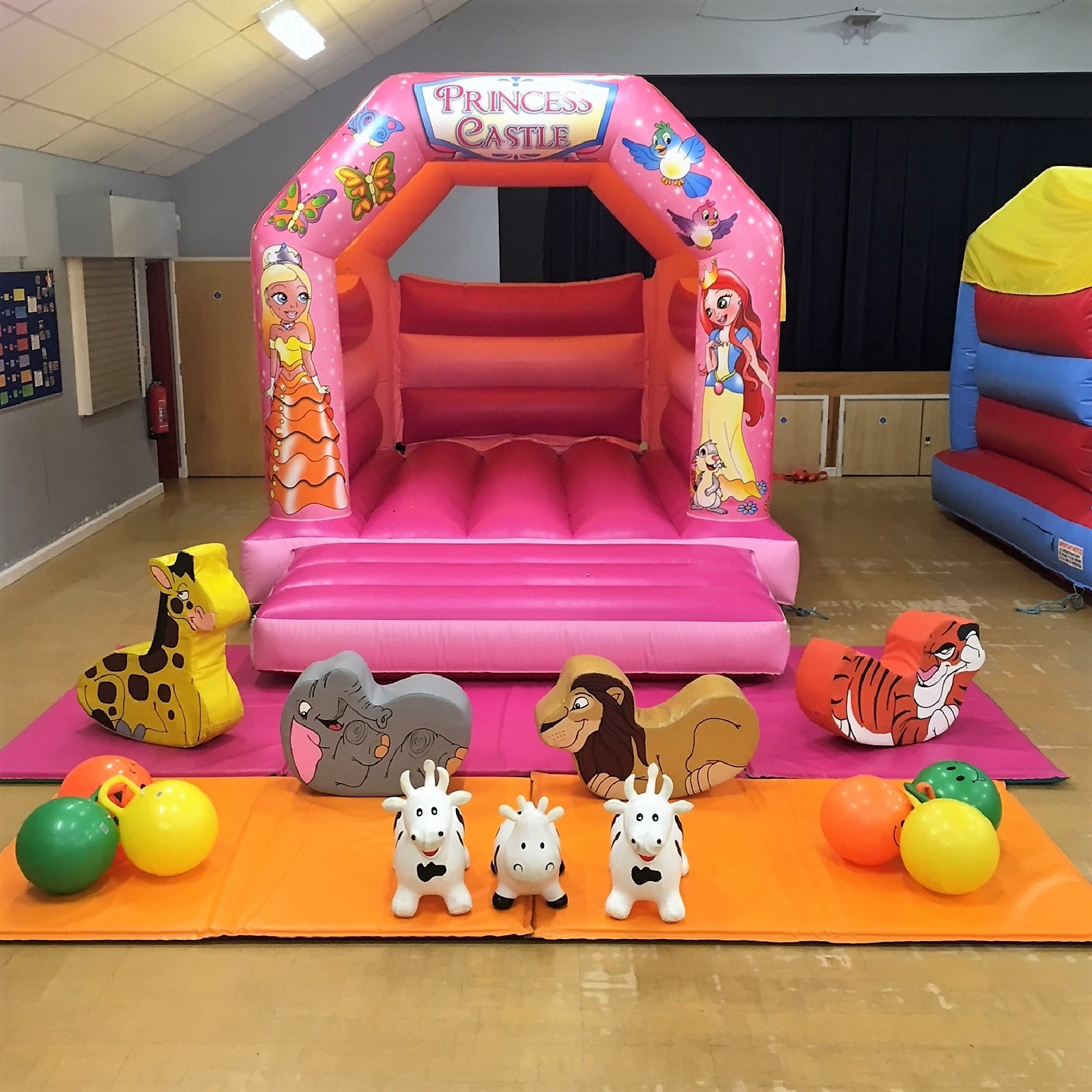 Leeds Castle Christmas Party: Bouncy Castles And Soft Play