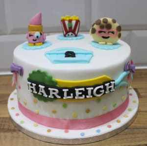 8 inch Birthday Cakes by Oh So Bakery Bouncy Castle Hire Leicester